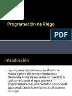 Clase - Programacion de Riego