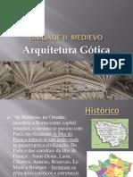 Sobre arquitetura gótica