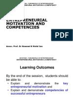 Ent300_module02 - Entrepreneurial Behavior & Competencies