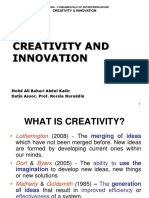 Ent300_module03 - Creativity & Innovation