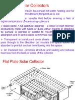 Solar Energy Collectors