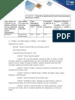 Formato Etapa 2 - Taller Fundamentos de Programación - Algoritmos