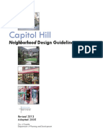 Current Capitol Hill Design Review Guidelines
