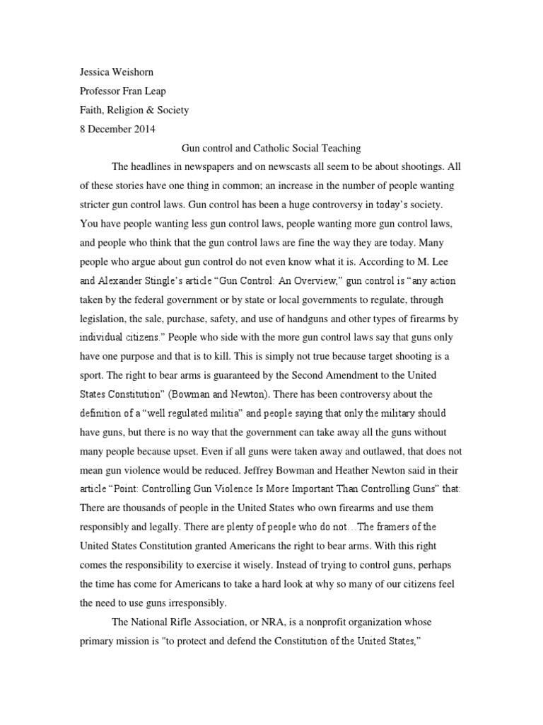 Pro gun control argument essay business essay writing essay wizard