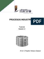 Procesos Industriales Sesión 2