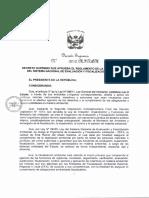 Proyecto de Decreto de Aprobacion de Reglamento de Ley 29325 Ley Sinefa