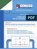 07 Instalar Lavadero de Granito_instalar Lavader Adosado a Pared_instalar Lavadero de Cocina en Mueble