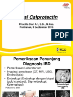 Slide Fecal Calprotectin PTK