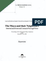 Los Dioses Remeros Mayas y Sus Posibles Interpretaciones