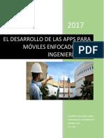 DESARROLLO DE LAS APPS PARA INGENIEROS CIVILES