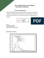 Distribución de Probabilidad Para Variables Aleatorias Continúas