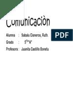 Comunicaciòn