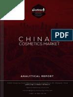 Chinas Cosmetics Market 2014 2015
