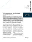 Ahrar Al-Sham - The 'Syrian Taliban'