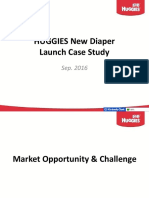 HUGGIES New Diaper Launch Case Study