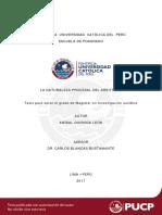 Quiroga León Naturaleza Procesal Arbitraje (1)