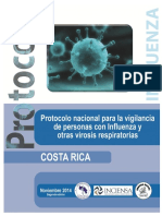 DVS Protocolo Influenza Segunda Edicion Noviembre 2014