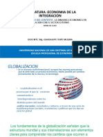 Economia de La Integracion Unidad 1 Contexto