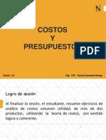 sesion 10  Analisis CVU y Punto de equilibrio multiproductos.pdf