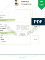 Formulir Psc 17