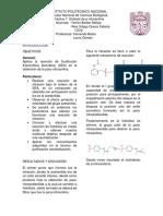 Síntesis de P-nitro anilina