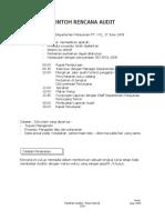03 Contoh Rencana Audit_1.doc