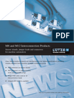 Lutze m8 and m12 Interconnection Products