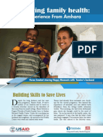 IFHP Success Story 2016 Amhara Region Produced by Tariku Nigatu and Abdusemed Mussa