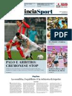 La Provincia Di Cremona 13-11-2017 - Sport