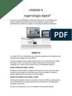UNIDAD X Imagenología Digital