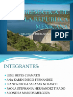 Problemática de La Republica Mexicana 1