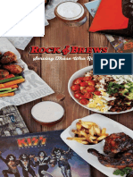 Rock and Brews Orlando Menu r042617