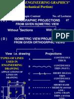 Isometric to Orthographics Engineering108.Com