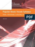 Pop Vocals Rev Jan 2015