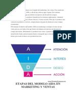 El Modelo AIDA Es Un Clásico en El Mundo Del Marketing y Las Ventas
