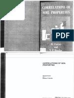Correlations of Soil Properties, Carter and Bentley
