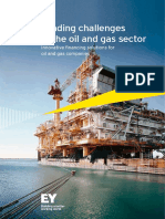 EY Funding Challenges in the Oil and Gas Sector