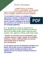 Dia de La Pachamama