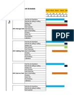 Nurul Islam Tank Schedule