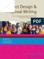 Project Design and Proposal Writing