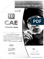 10 CAE Test. Speaking Section