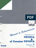 1.- Toyota y El Tecnico Toyota