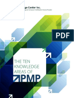 The Ten Knowledge Areas of PMP