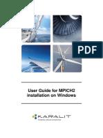 MPICH2 Installation on Windows