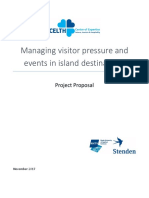 Call - Research Project 'Visitor Pressure on Island Destinations' by CELTH & Stenden ETFI