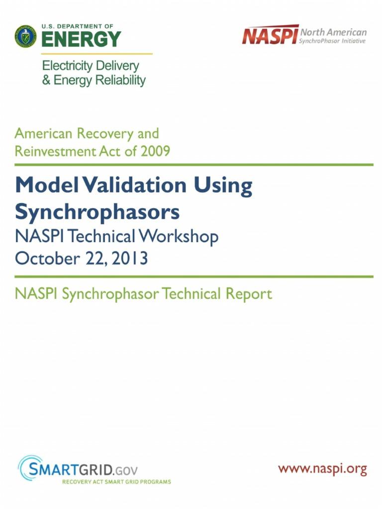 naspi_model_validation_workshop | smart grid | electrical grid, Presentation templates