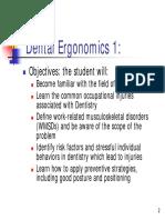 Teaching and Assessing Ergonomics in the Simulation Laboratory