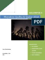 MAKALAH AGAMA - QADHA & QADAR.docx