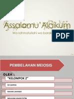 Presentasi Biologi Pembsel Meiosis