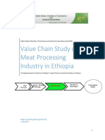 Value Chain Study on Meat Processing